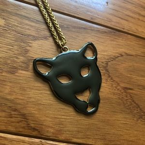 Jewelry - Black Panther Gold Necklace